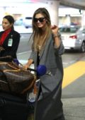 Delta Goodrem arrives at LAX Airport, Los Angeles