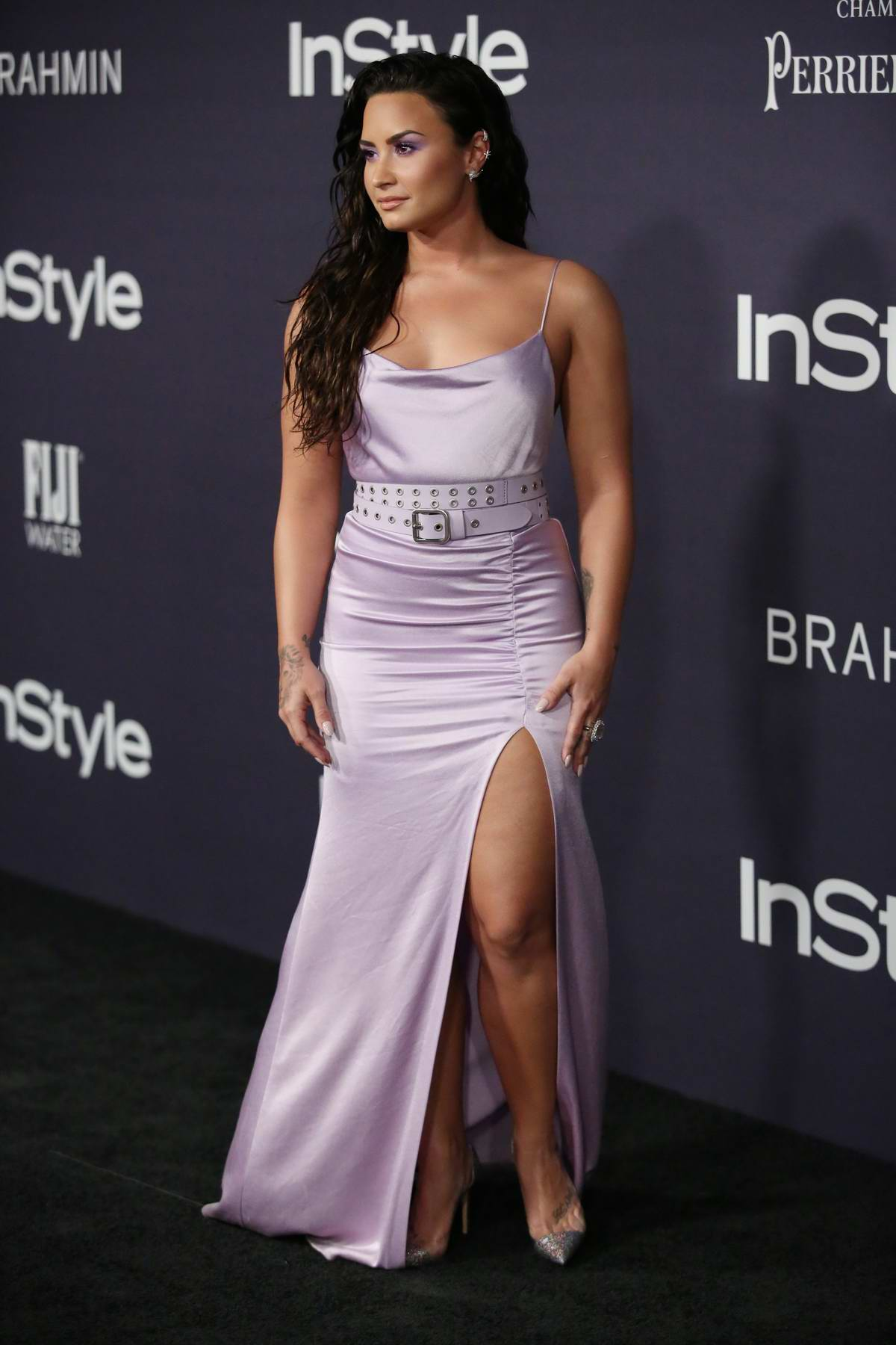 Demi Lovato at the 2017 InStyle Awards held at Getty Center in Los Angeles