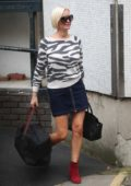 Denise van Outen exits ITV Studios in London
