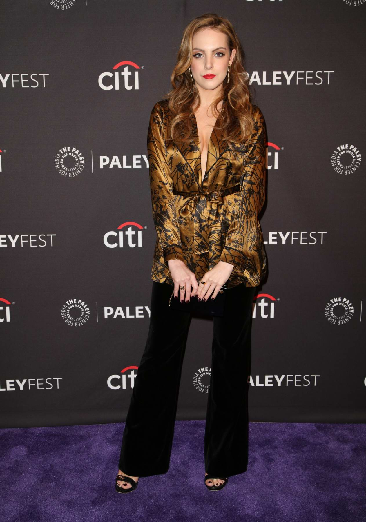 Elizabeth Gillies at The Paley Center for Media to promote her TV show Dynasty in Beverly Hills, Los Angeles
