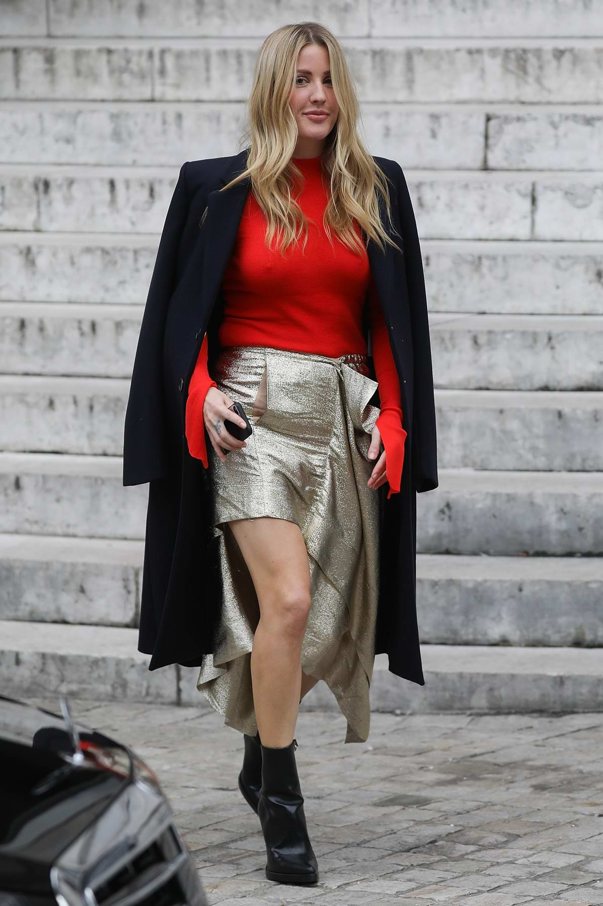 94dc717822e1 Ellie Goulding at Stella McCartney Show