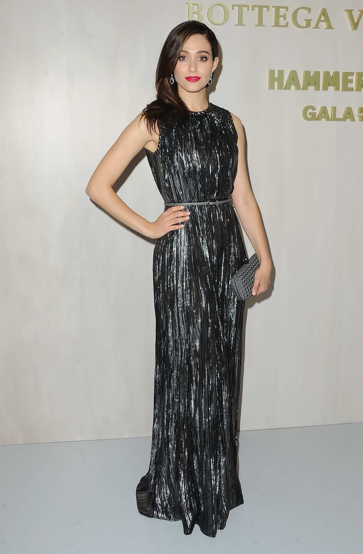 Emmy Rossum at Hammer Museum Gala in the Garden honoring Ava Duvernay held at the Hammer Museum in Los Angeles