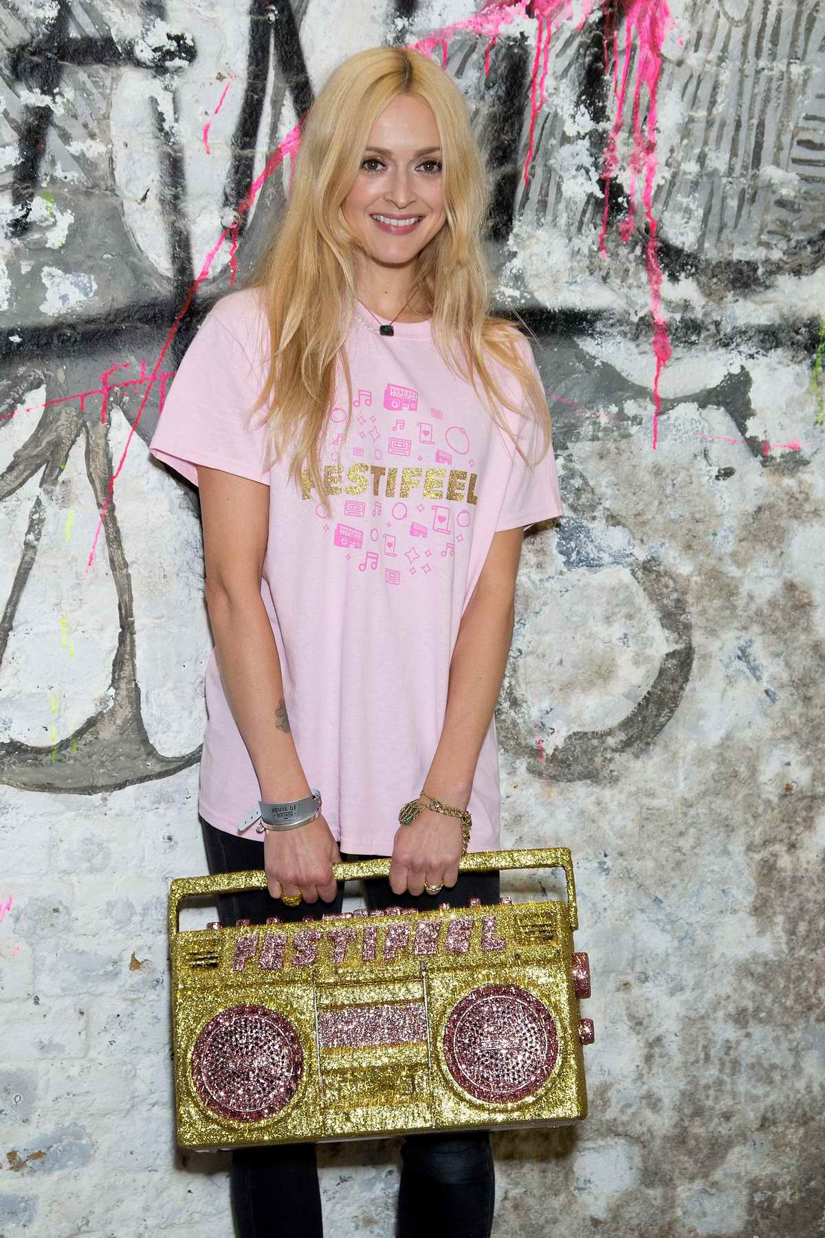 Fearne Cotton at Coppafeel Charity event in London