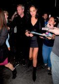 Gal Gadot arrives at the Saturday Night Live after-party in Los Angeles