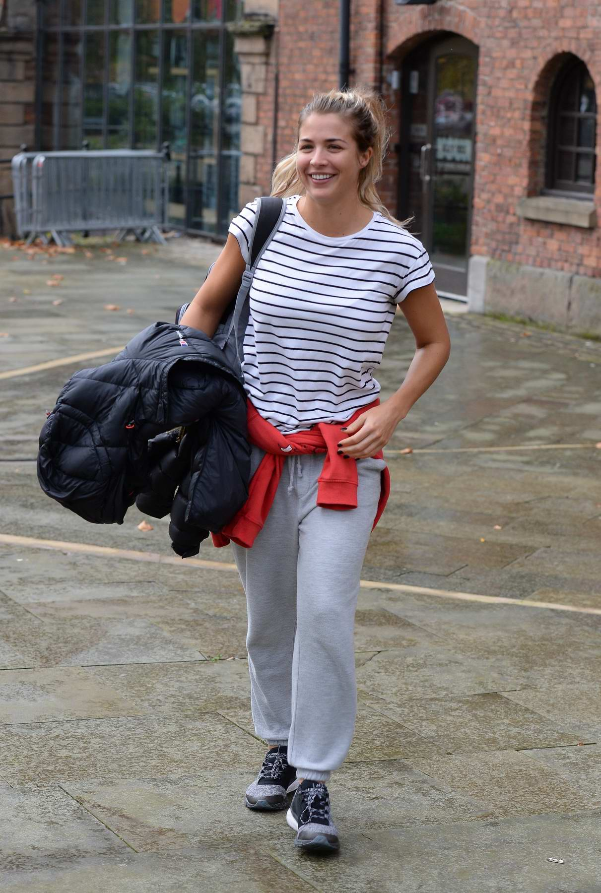 Gemma Atkinson leaves Key 103 radio station in Manchester, UK