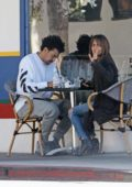 Halle Berry out with her new boyfriend Alex da Kid in Los Angeles
