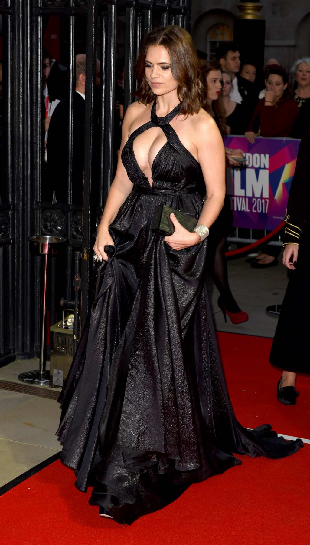 Hayley Atwell Attends The 61st Bfi London Film Festival