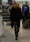 Heather Graham arriving at JFK Airport in New York City