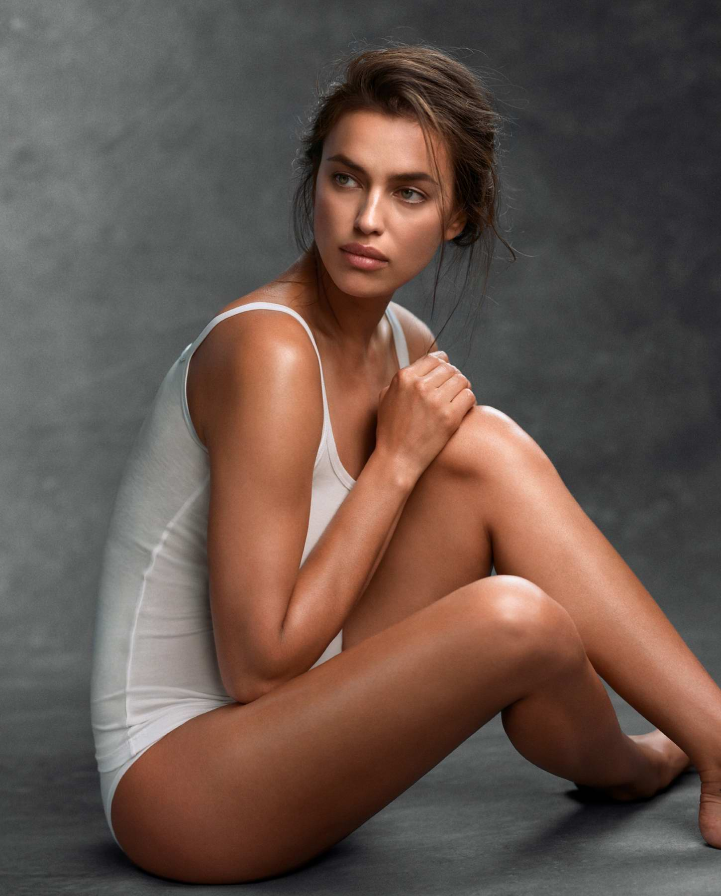 Irina Shayk photoshoot for Intimissimi Collection 2017