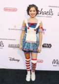 Isabela Moner at the Dream Halloween costume party in Los Angeles