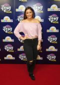 "Jacqueline Jossa at the screening of ""My Little Pony - The Movie"" held at Ham Yard Hotel in London"