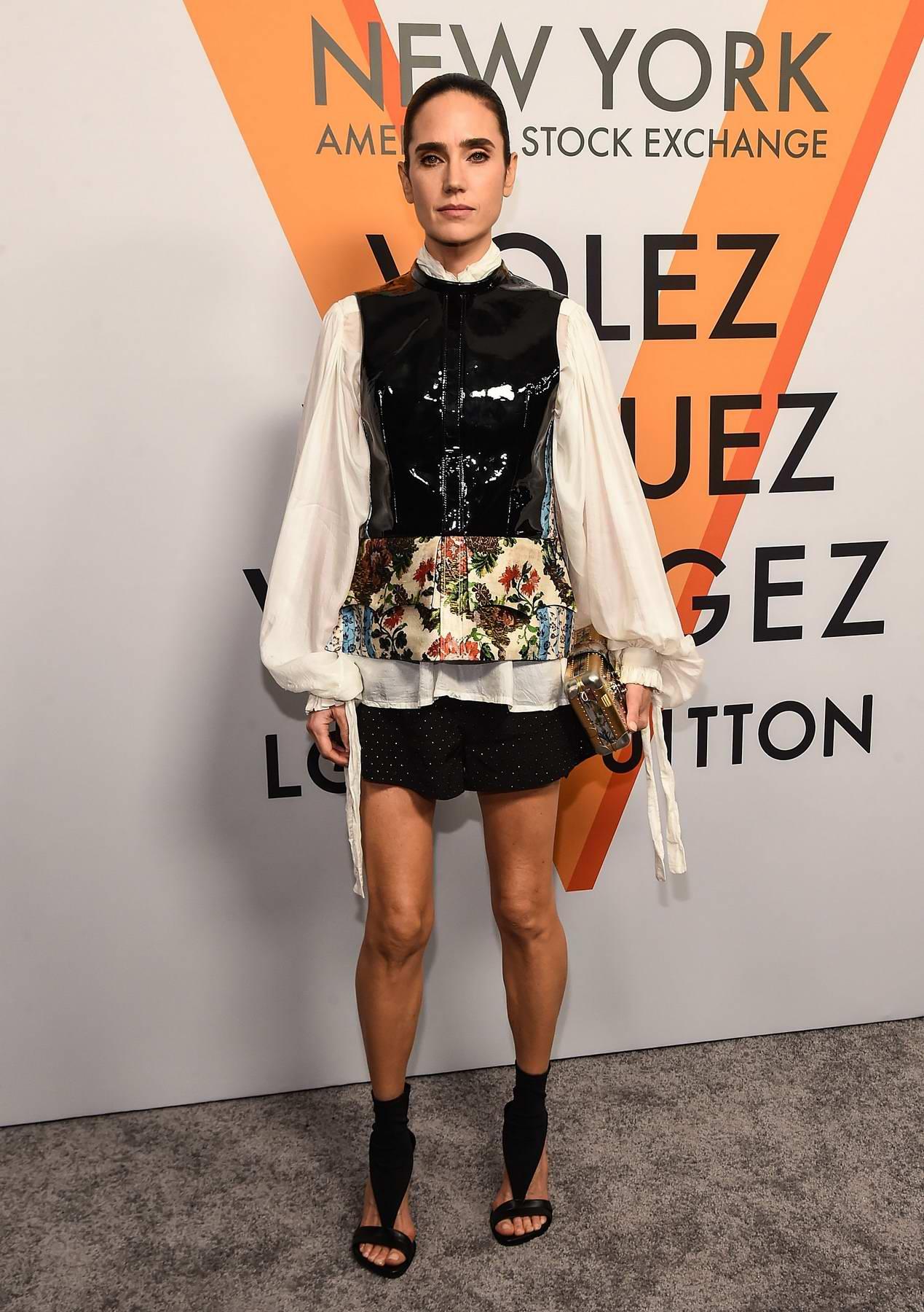 Jennifer Connelly at Louis Vuitton 'Volez, Voguez, Voyagez' exhibition opening in New York