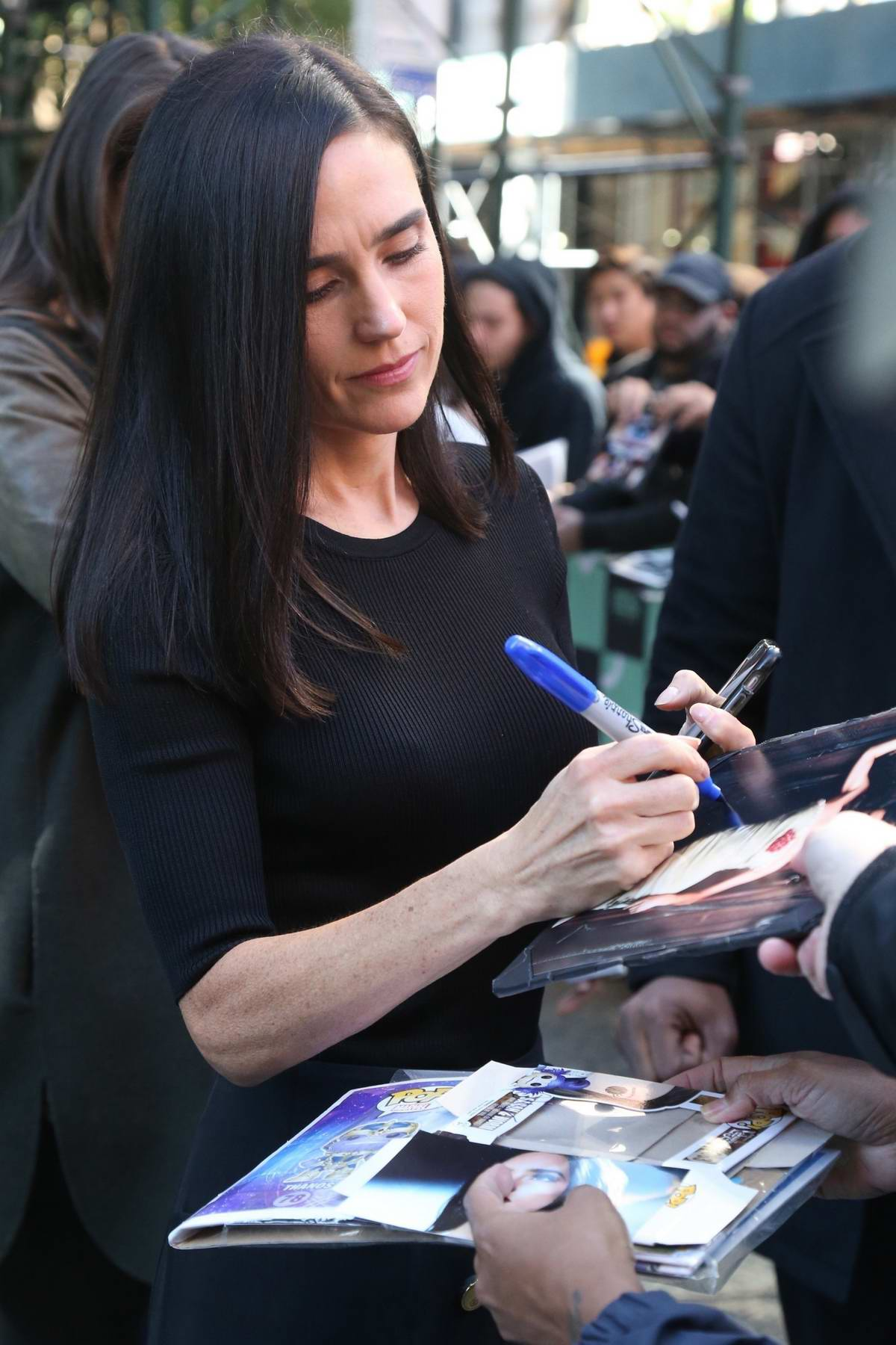 Jennifer Connelly at the AOL Build Series to discuss 'Only The Brave' in New York