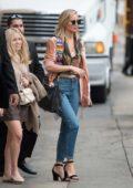 Jennifer Lawrence arriving at Jimmy Kimmel Live in Los Angeles