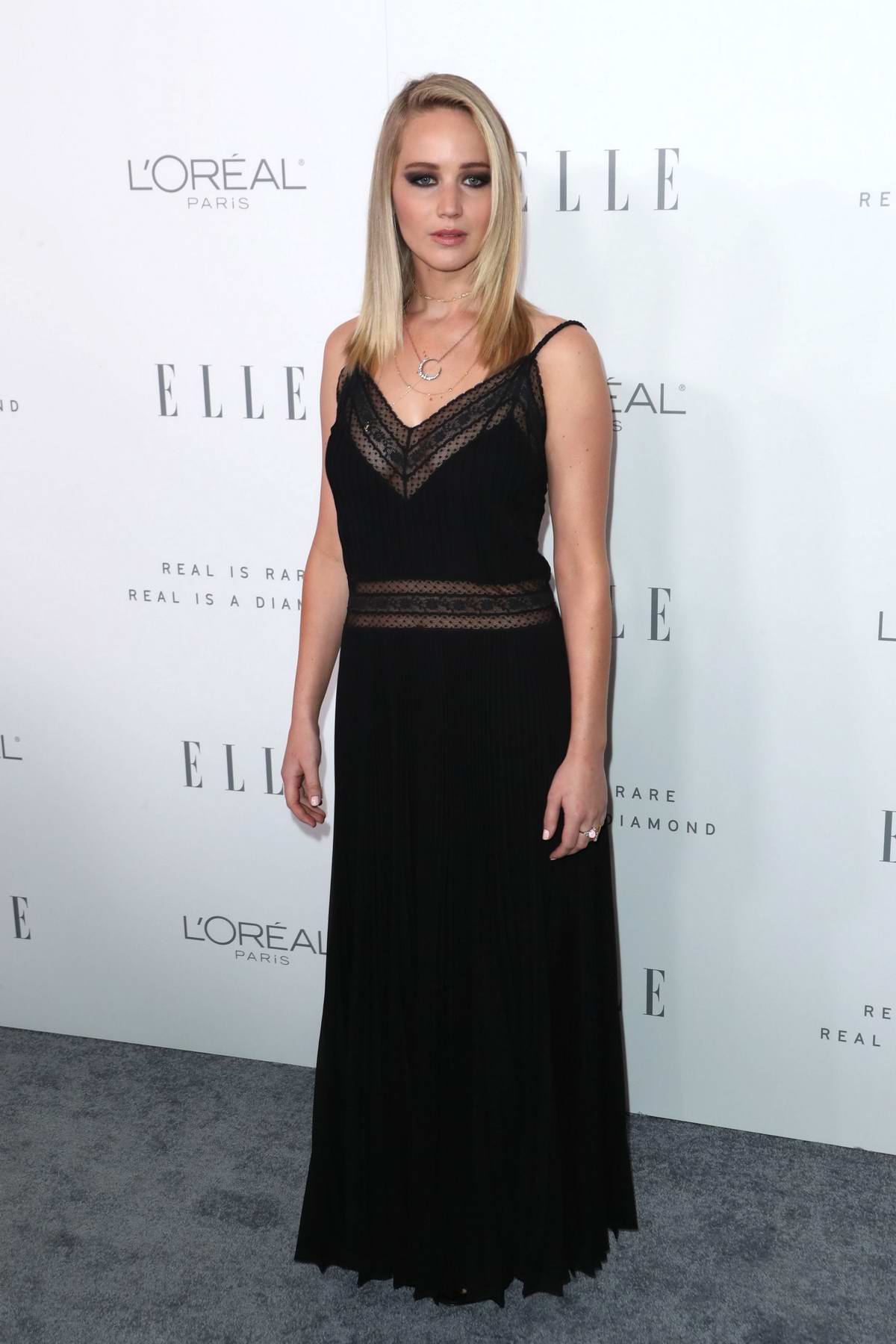 Jennifer Lawrence at the Elle's 24th Annual Women in Hollywood Celebration in Los Angeles