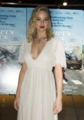 Jennifer Lawrence at the premiere of Faces Places at the Pacific Design Center in West Hollywood, Los Angeles
