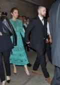Jessica Biel and Justin Timberlake depart the screening of his new movie Wonderwall at Lincoln Center in New York