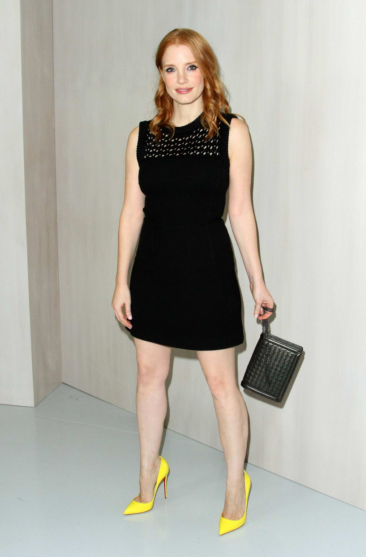Jessica Chastain at Hammer Museum Gala in the garden honoring Ava Duvernay held at The Hammer Museum in Los Angeles