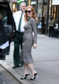 Jessica Chastain at the produced by conference's 'Power To Shake It Up' panel in New York City