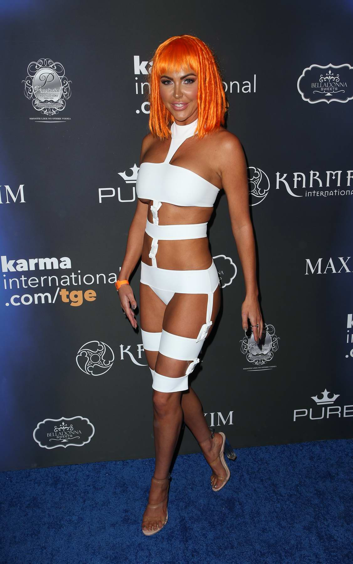 Jessica Cribbon at the 2017 Maxim Halloween party in Los Angeles