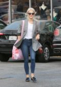 Julianne Hough coming out of Urban Outfitters in Studio City, Los Angeles
