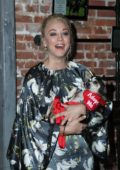 Kaley Cuoco attends the Much Love Animal Rescue Spoken Woof at Microsoft Lounge in Venice, Los Angeles