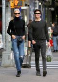 Karlie Kloss walks home with boyfriend Joshua Kushner in West Village, New York City