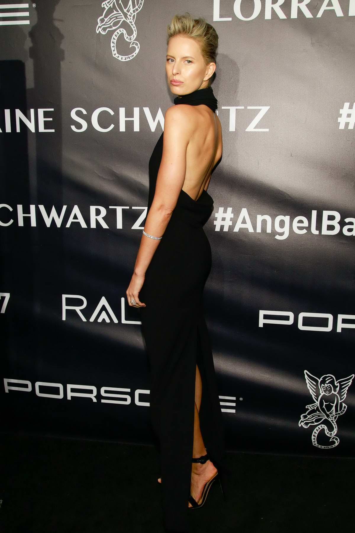 Karolína Kurkova at the Gabrielle's Angel Foundation for Cancer Research Angel Ball in New York