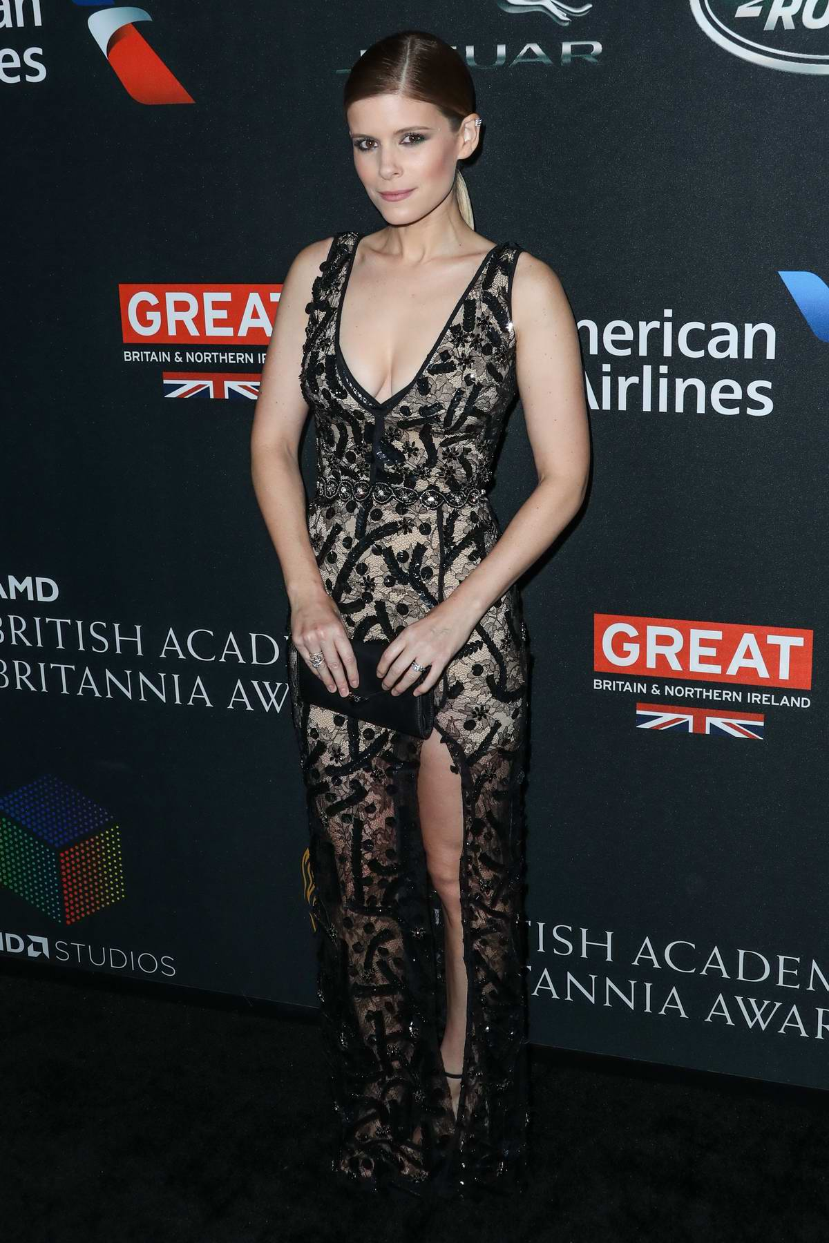 Kate Mara at the British Academy (BAFTA) Britannia Awards 2017 in Los Angeles
