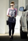 Kate Mara leaves the Ballet Bodies Dance Studio in Los Angeles