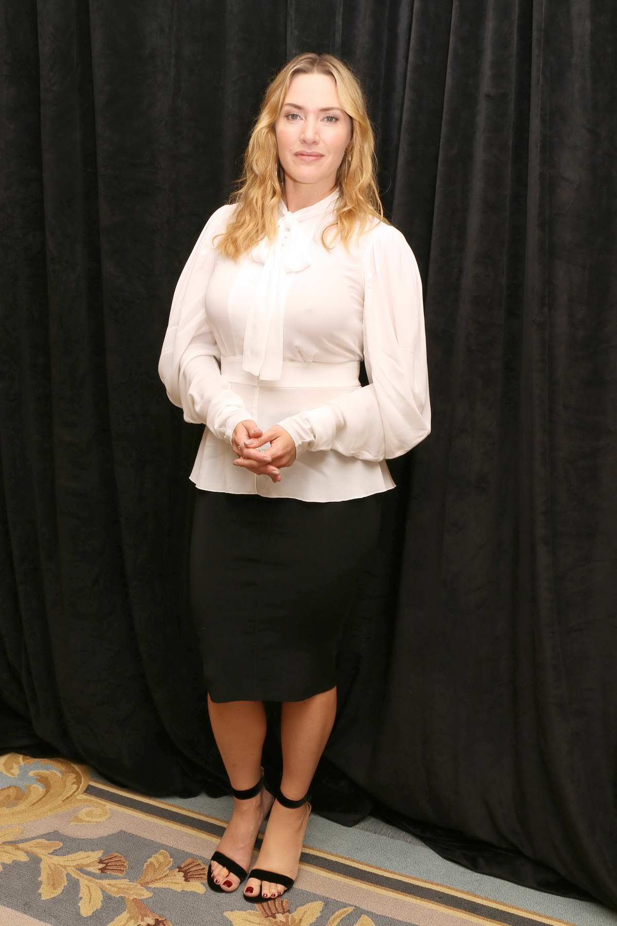 Kate Winslet at the press conference for Wonder Wheel at the the Ritz Carlton Central Park South Hotel in New York