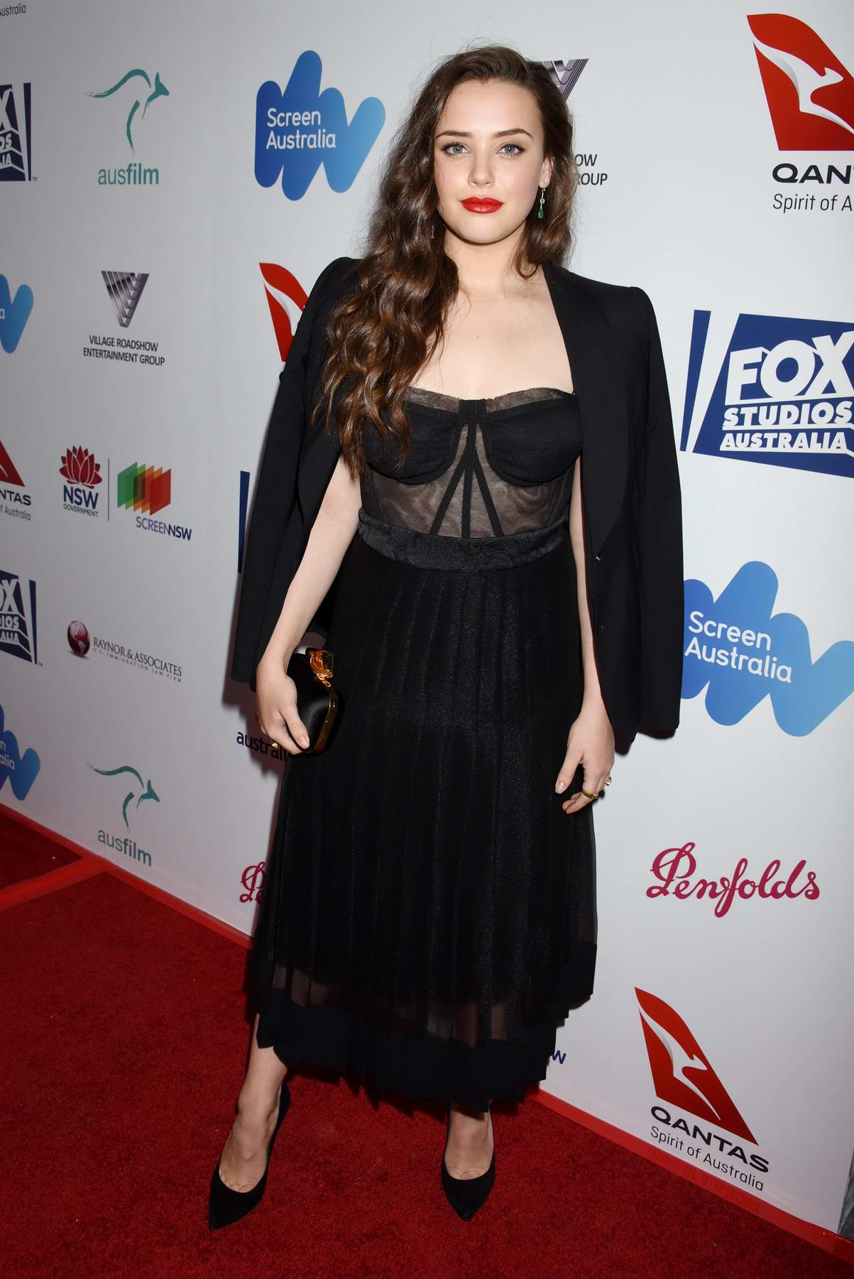Katherine Langford at the 6th Annual Australians in Film Awards benefit dinner in Los Angeles