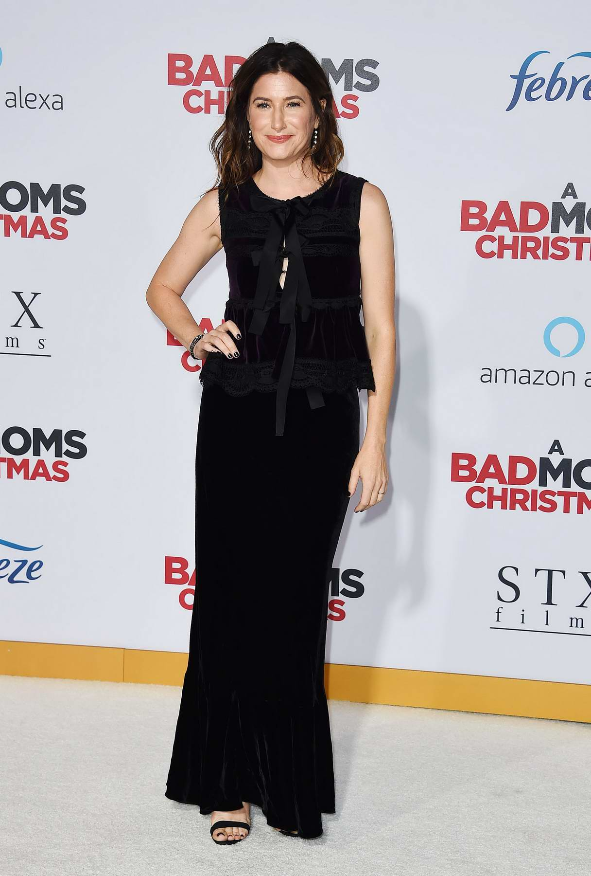 Kathryn Hahn at the premiere of 'A Bad Moms Christmas' in Westwood, California