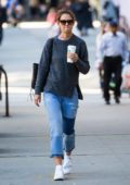 Katie Holmes out running errands in New York City