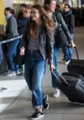 Keira Knightley seen at Berlin Tegel Airport after shooting Berlin I Love You, Germany