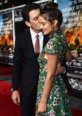 Keleigh Sperry and Miles Teller at the premiere of 'Only The Brave' in Los Angeles
