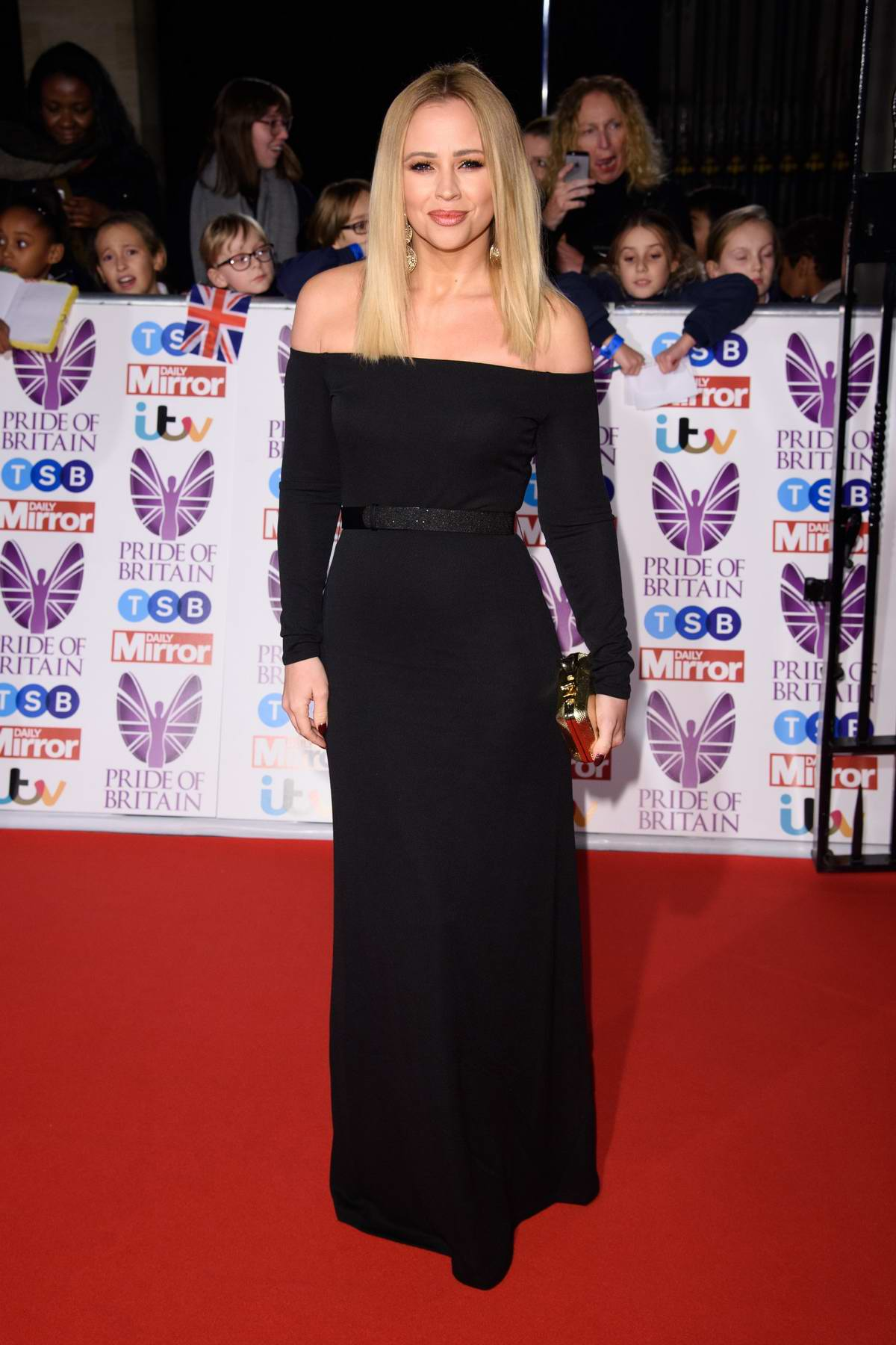 Kimberley Walsh at the Pride of Britain Awards held at the Grosvenor House in London