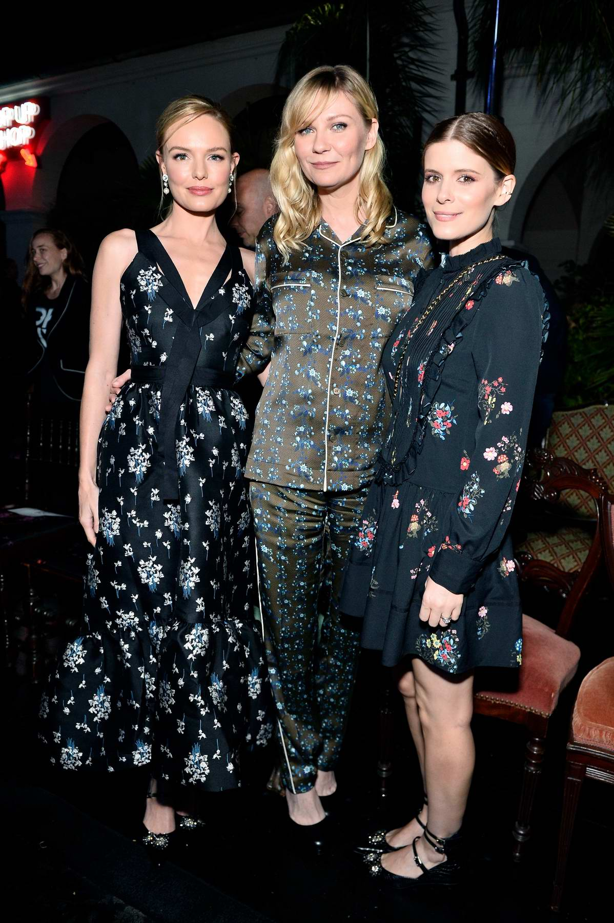 Kirsten Dunst at the Erdem X H&M launch event and show in Los Angeles