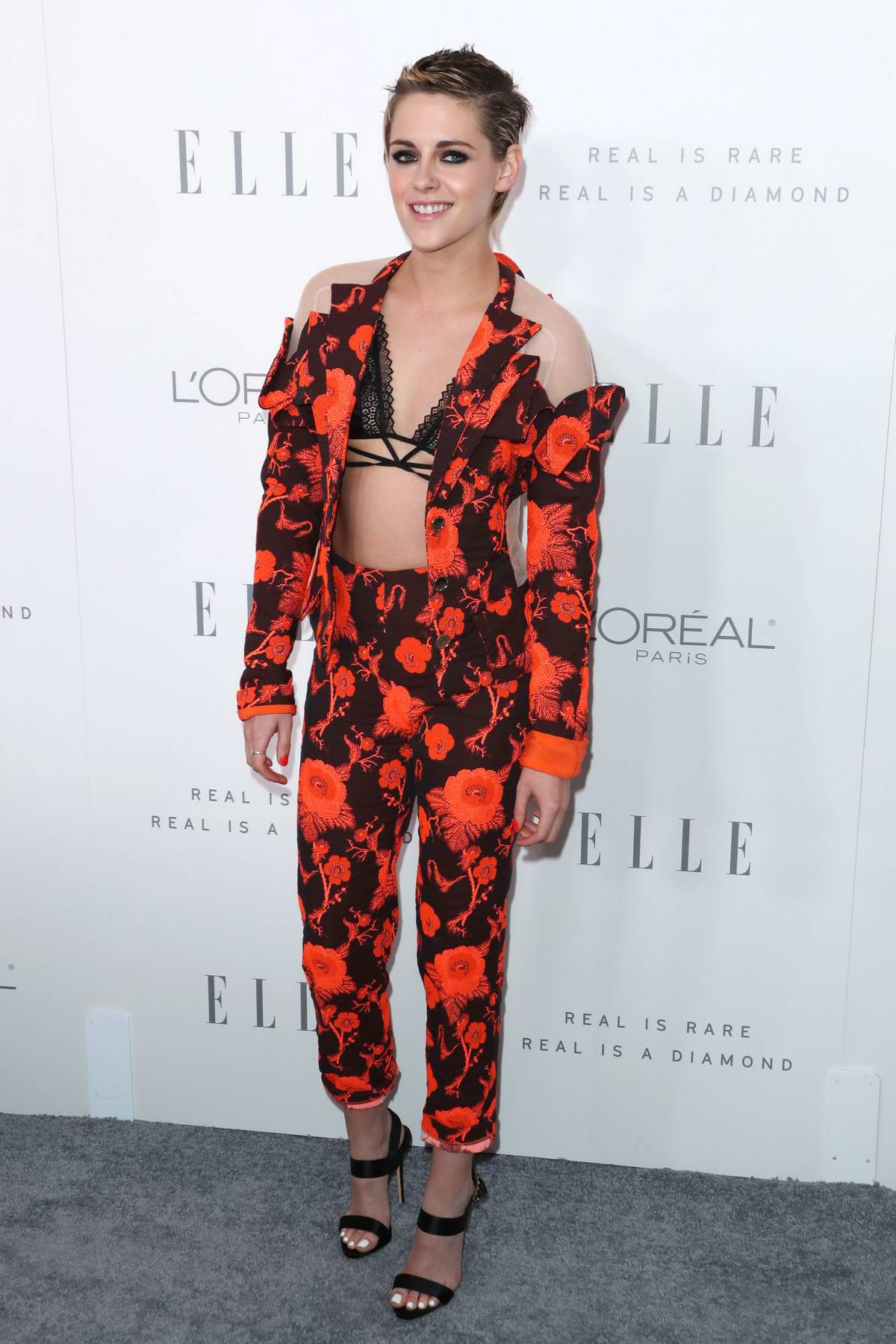 Kristen Stewart at the Elle's 24th Annual Women in Hollywood Celebration in Los Angeles