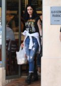 Krysten Ritter grabs some lunch at Judi's Deli in Los Angeles