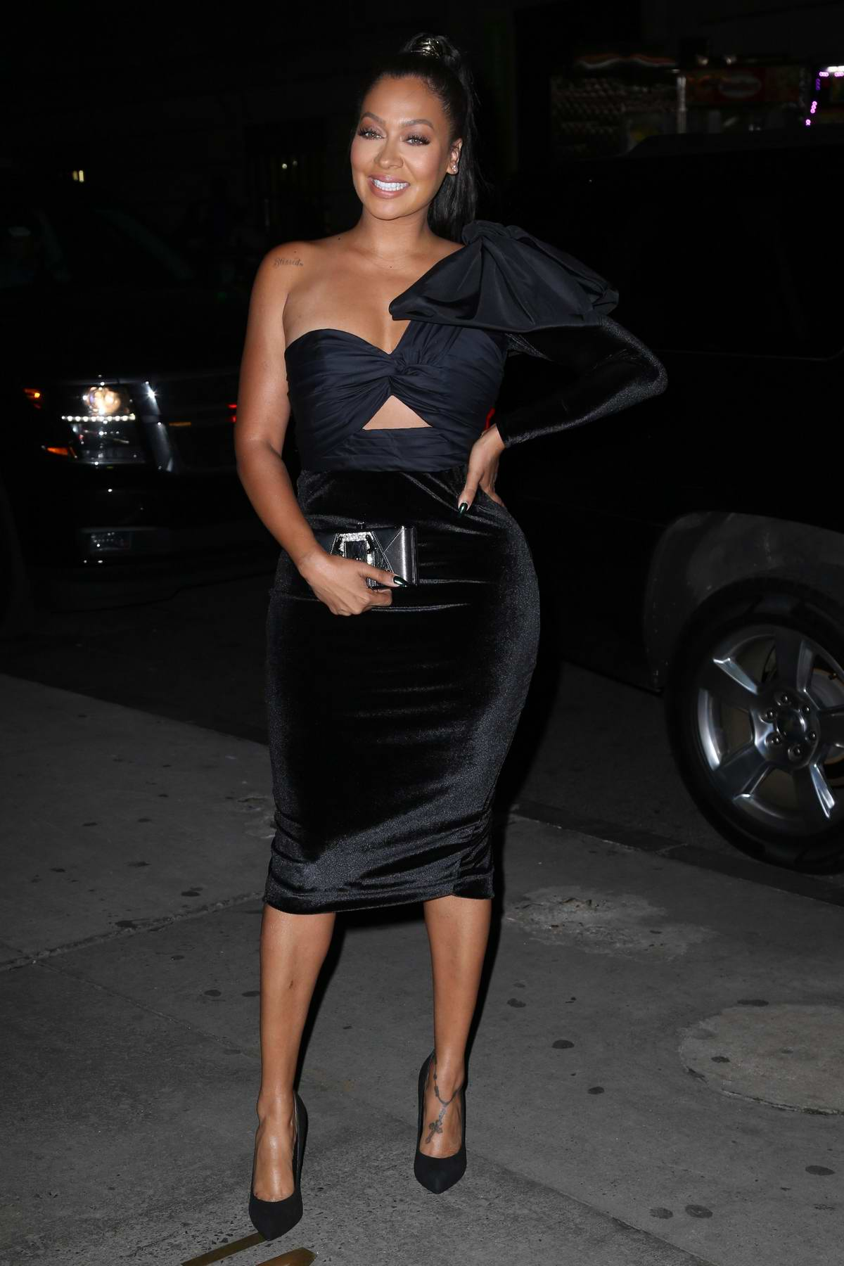 La La Anthony at the Fashion Group International Night of Stars Gala in New York