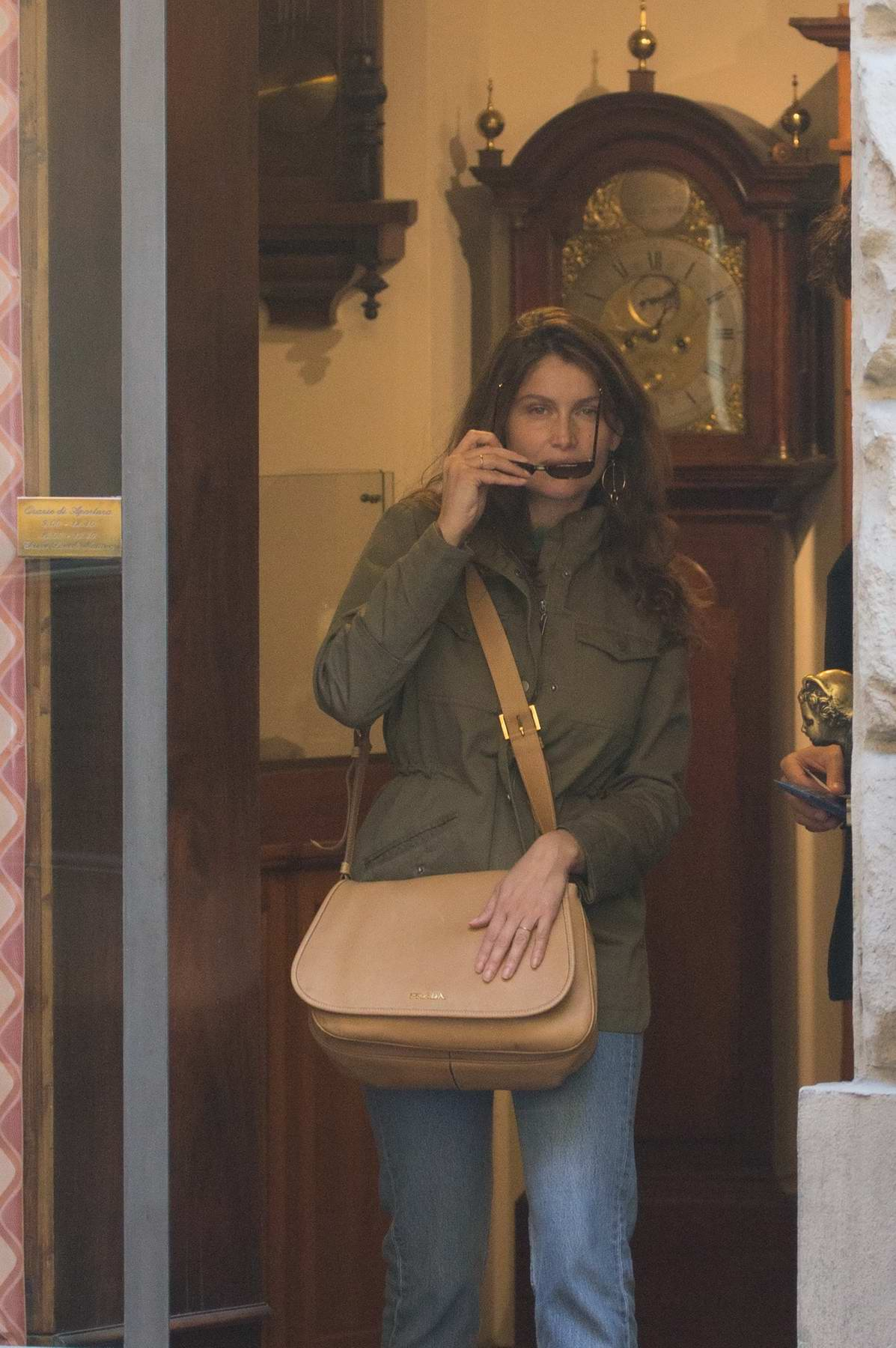 Laetitia Casta and Louis Garrel spotted in Florence, Italy