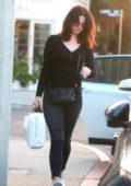 Lana Del Rey looks casual as she runs errands out in Hollywood, Los Angeles