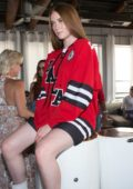 Larsen Thompson at #TIALSPINK launch party in Los Angeles