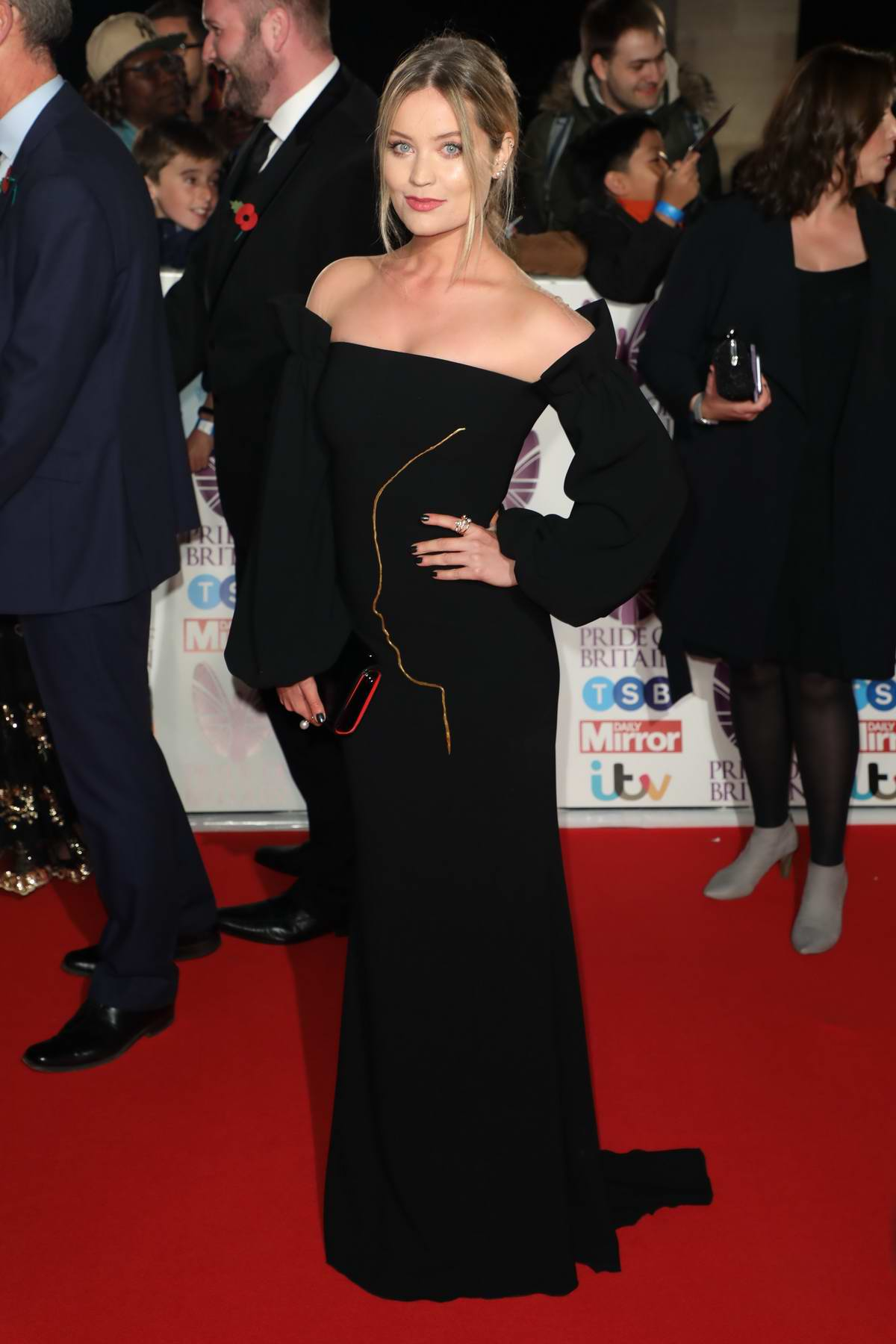 Laura Whitmore at the Pride of Britain Awards held at the Grosvenor House in London