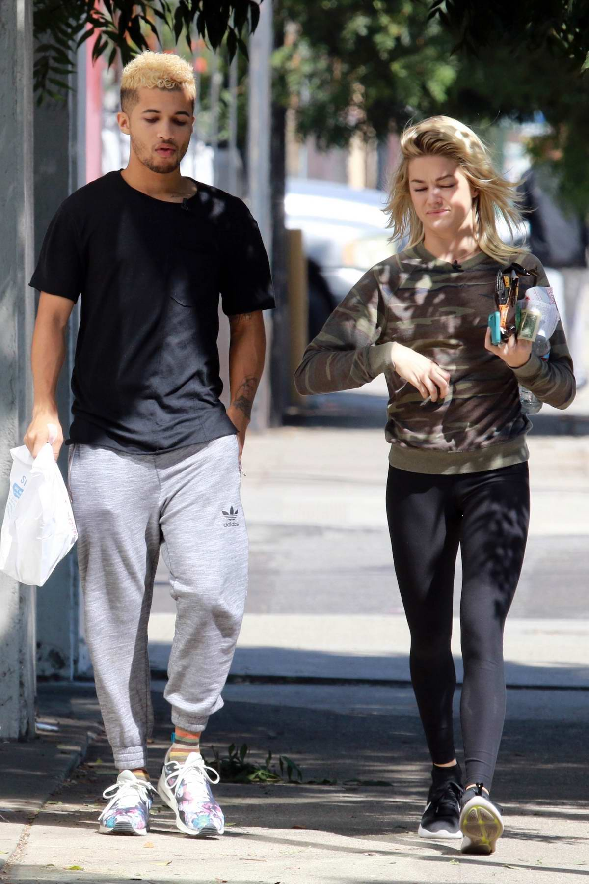 Lindsay Arnold seen arriving to the dance studio in Los Angeles