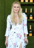 Lindsey Vonn at Veuve Cliquot Polo Classic in Los Angeles