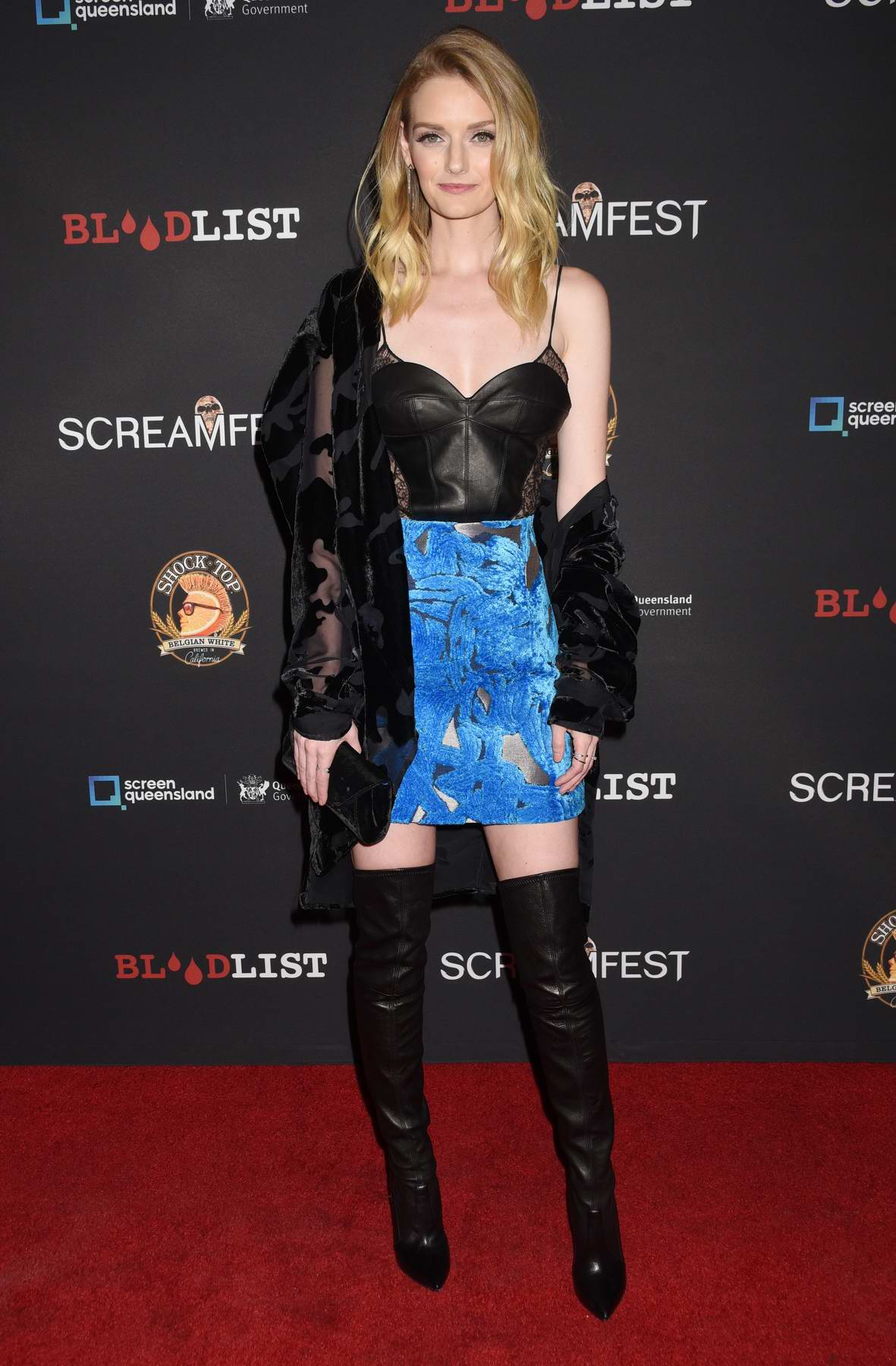 Lydia Hearst at Dead Ant premiere during Screamfest Horror Film Festival in Los Angeles