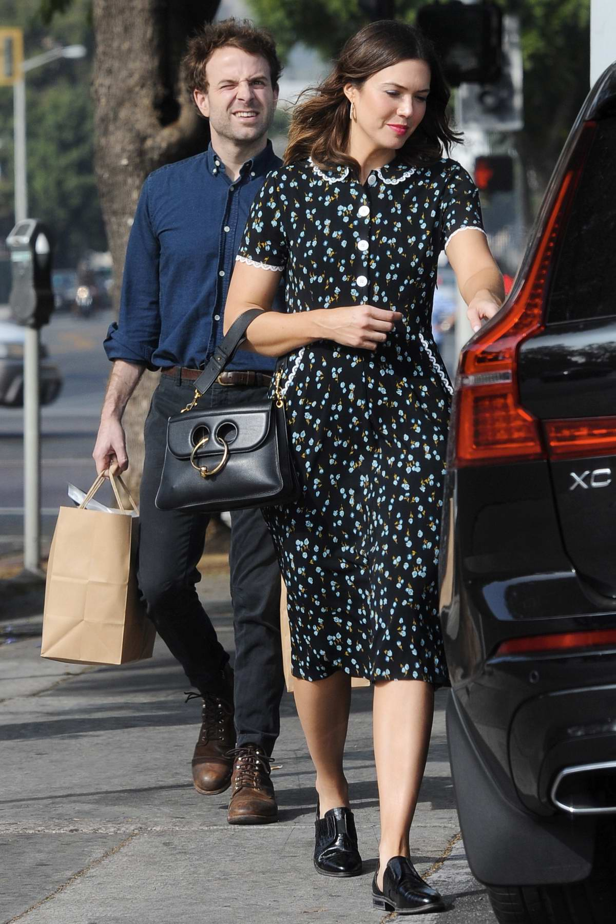 Mandy Moore And Fiance Taylor Goldsmith Out For Some Ping In Los Angeles