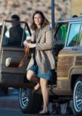 Mandy Moore is spotted on the set of 'This Is Us' in Los Angeles